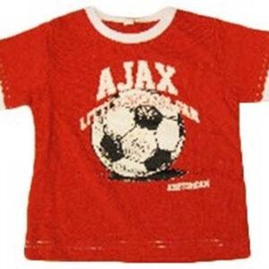 Ajax baby t-shirt soccer rood – MAAT 62-68