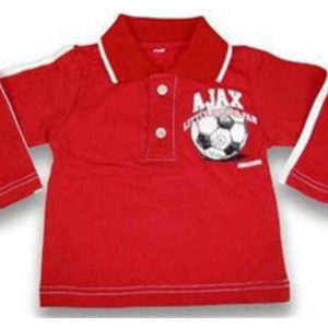Ajax baby polo rood little soccer – MAAT 74-80