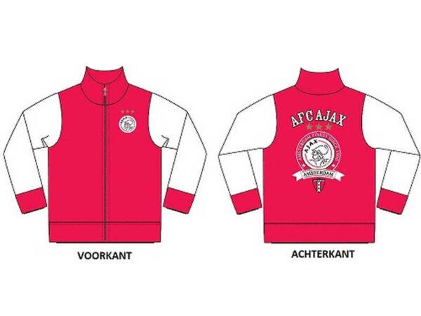Ajax baby sweatvest finest (BESCHADIGD) – MAAT 62-68