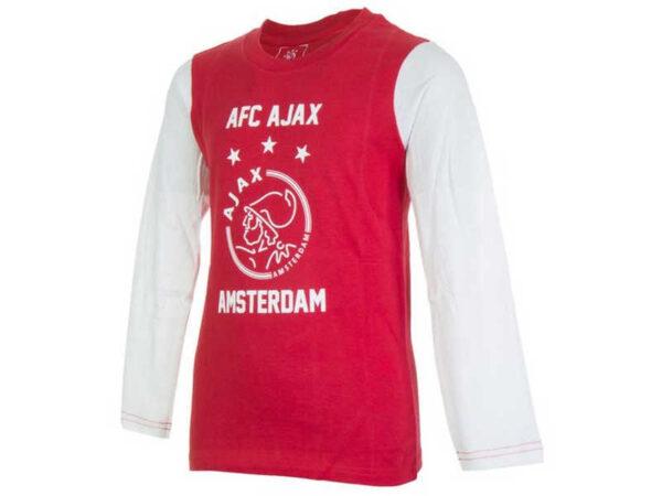 Ajax pyjama-shirt AFC rood wit (INCOMPLEET) – MAAT 152