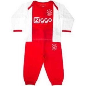 Ajax baby pyjama rood wit Ziggo – MAAT 86-92
