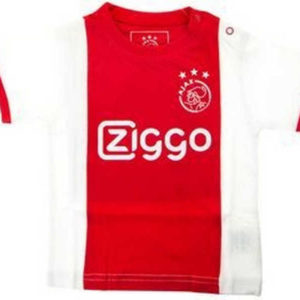 Ajax baby shirt Ziggo rood wit – MAAT 86-92